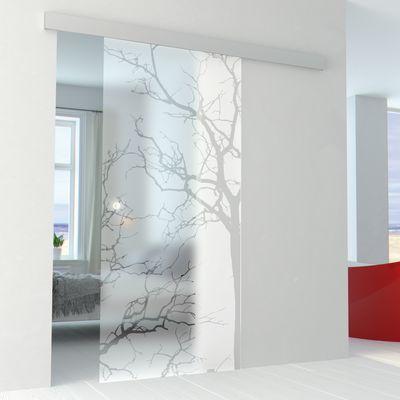 Porta da interno scorrevole Autumn/binario Alu 76 x H 215 cm ...