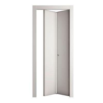 Porta da interno pieghevole Prado bianco 80 x H 210 cm dx: prezzi e ...