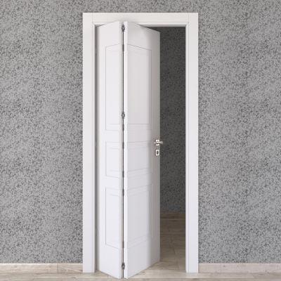 Porta da interno pieghevole asimmetrica Alioth bianco 80 x H 210 ...