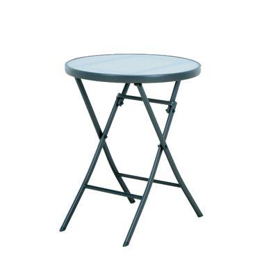 Tavolo pieghevole Ø 60 cm antracite: prezzi e offerte online
