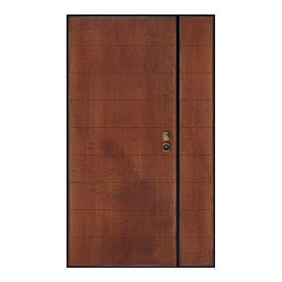Porta blindata Big noce L 120 x H 210 cm sx: prezzi e offerte online