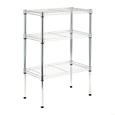 Scaffale in kit Spaceo Chrome Style+ L 60 x P 35 x H 90 cm: prezzi e ...