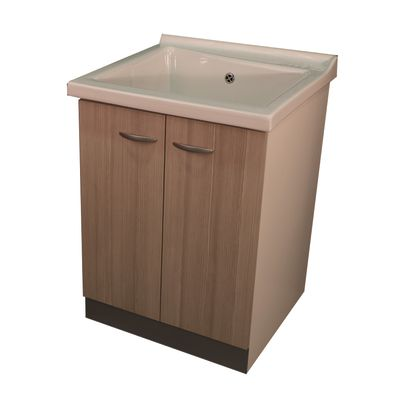 mobile lavatoio plus bianco / larice l 63 x p 60 x h 87 cm: prezzi e