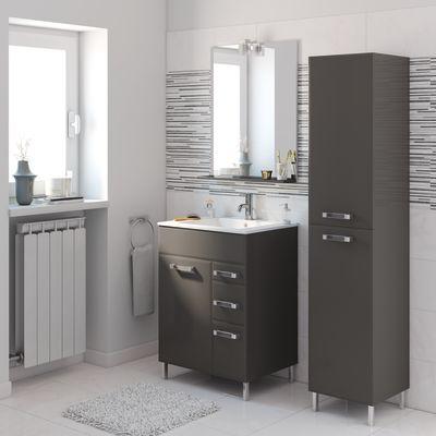 Mobile bagno Opale grigio antracite L 60 cm: prezzi e offerte online