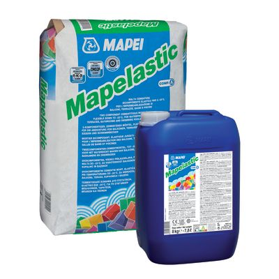 Impermeabilizzante cementizio Mapei Mapelastic 32 kg: prezzi e ...