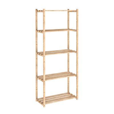 Scaffale legno 5 ripiani L 65 x P 30 x H 171 cm: prezzi e offerte online