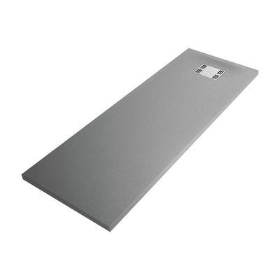 Piatto doccia resina Sensea Slate 70 x 170 cm grigio: prezzi e ...