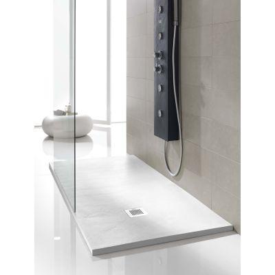 piatto doccia poliuretano soft 100 x 80 cm bianco: prezzi e offerte
