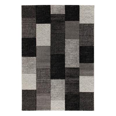 Tappeto textures nero grigio 200 x 300 cm prezzi e for Tappeti persiani amazon