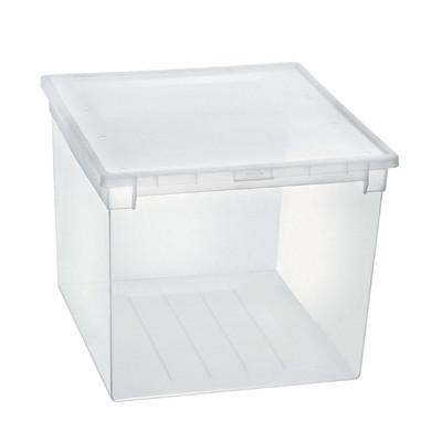Scatola light box 52 xxl trasparente prezzi e offerte online for Scatole per armadi leroy merlin