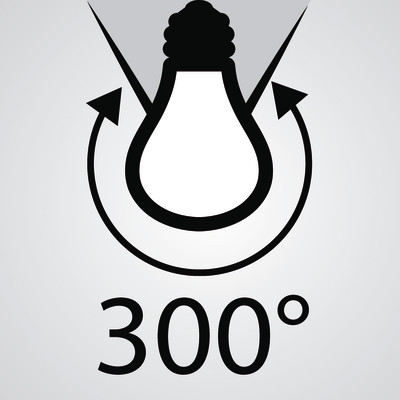 Lampadina led lexman e27 125w globo luce calda 300 for Leroy merlin lampadine led