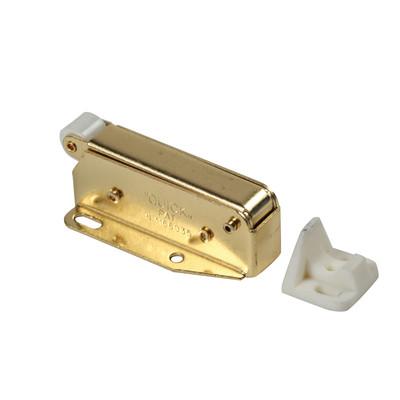 Cricchetto blocca antine ottone 40 x 53 x 28 mm prezzi e - Antine in legno leroy merlin ...