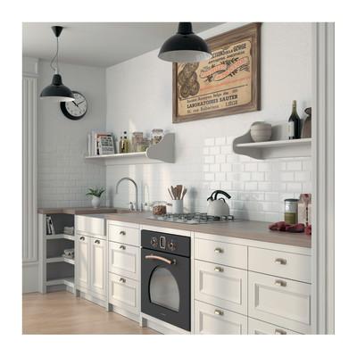 Piastrella metro 7 5 x 15 bianco prezzi e offerte online - Leroy merlin piastrelle cucina ...