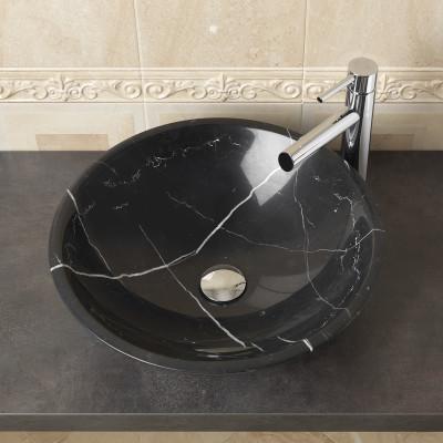 Lavabo da appoggio pietra nero prezzi e offerte online for Lavabo da appoggio leroy merlin