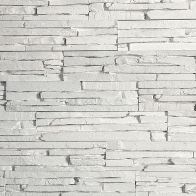 Pavimenti e rivestimenti-Rivestimento decorativo Oslo bianco bianco ...