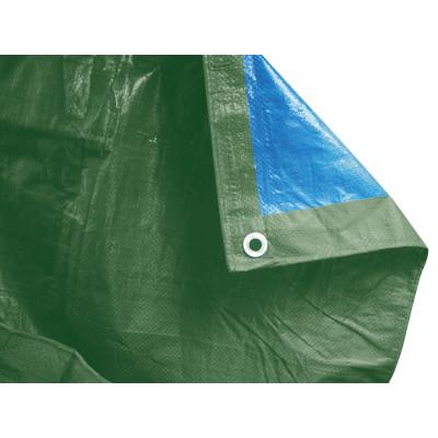 Telo protettivo occhiellato 10 x 6 m 90 g m prezzi e for Telo ombreggiante leroy merlin