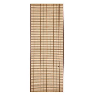 Tenda a pacchetto saigon legno naturale 45 x 250 cm for Tende rullo leroy merlin