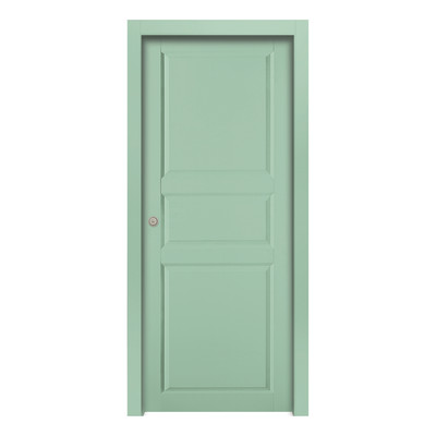 Porta da interno battente new york green verde 60 x h 210 for Porta finestra leroy merlin