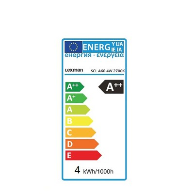 Lampadina LED Lexman Filamento E27 =40W goccia luce calda ...