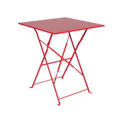 Tavolo pieghevole rosso prezzi e offerte online for Tavoli online offerte