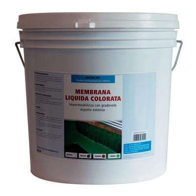 Membrana liquida verde 20 kg prezzi e offerte online for Guaina liquida leroy merlin