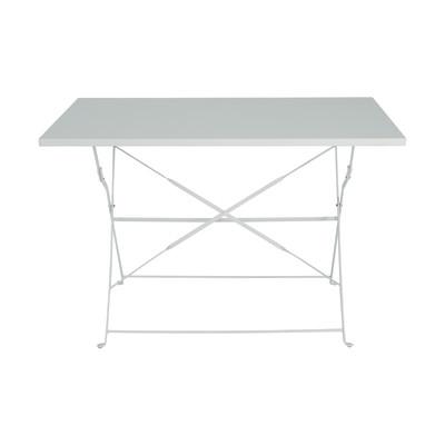 Tavolo pieghevole bianco prezzi e offerte online - Tavolo roma leroy merlin ...