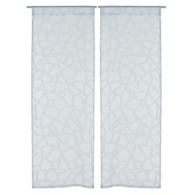 Tendina a vetro per porta finestra Cedre bianco 60 x 240 ...