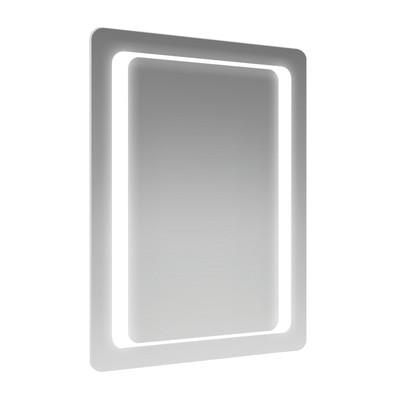 Specchio retroilluminato ronda led 60 x 80 cm prezzi e for Illuminazione specchio bagno leroy merlin