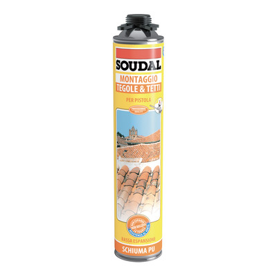 Schiuma poliuretanica montaggio tetti e tegole grigio 0 75 for Tegole in plastica leroy merlin