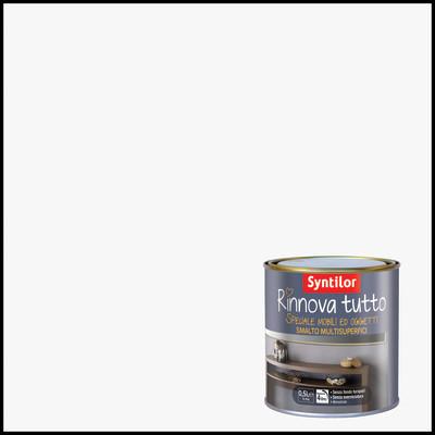 Smalto rinnova tutto syntilor bianco opaco 0 5 l prezzi e offerte online - Syntilor rinnova tutto bagno ...