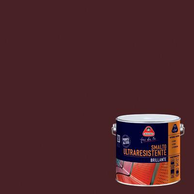 Smalto boero ultra resistente testa di moro brillante 2 l for Leroy merlin boero