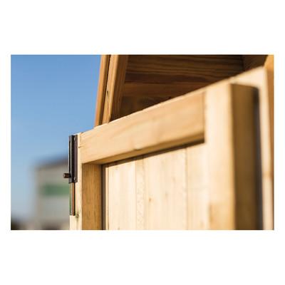 Casetta in legno veronica 335 x 348 cm spessore 19 mm for Perline legno leroy merlin