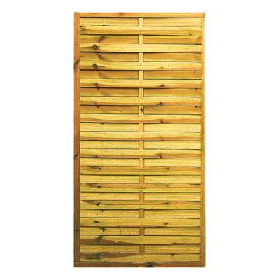 Frangivista in legno 90 x 180 cm in vendita online leroy for Fioriere in legno obi