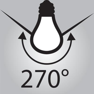 Lampadina LED Lexman filamento E27 =60W globo luce fredda ...