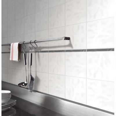 Pareti camera da letto mattoni - Piastrella 7 5x15 bianche ...