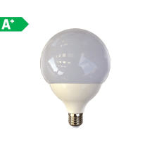 Lampadina LED Lexman E27 =125W globo luce fredda 300°