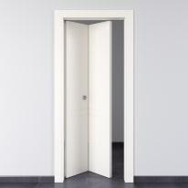 Porta da interno pieghevole Rail bianco 70 x H 210 cm sx