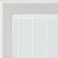 Tendina a vetro per portafinestra Picasso bianco 90 x 240 cm
