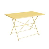 Tavolo pieghevole Color, 110 x 70 cm giallo