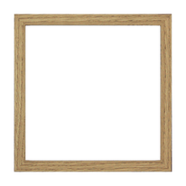 Cornice Milo rovere 13 x 13 cm