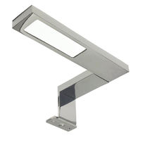 Luce da specchio Eagle cromo 15 cm 7 W 370 Lumen led integrato IP44