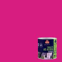 Smalto Boero all'acqua pink satinato 0.5 L