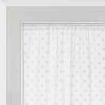 Tendina a vetro per portafinestra Elsa bianco 100 x 240 cm