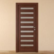 Porta da interno battente Malawi 4 70 x H 210 cm sx