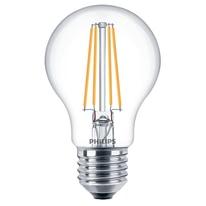Lampadina LED E27 =60W goccia luce calda 220°