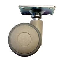 Ruota gomma termoplastica grigio Ø 40 mm