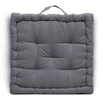 Cuscino futon Clea Inspire grigio 60 x 60 cm