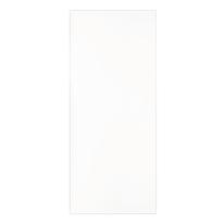 Pannello per porta blindata MDF laminato bianco L 90 x H 210 cm , spessore 6 mm