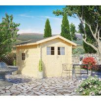 casetta in legno grezzo Pimpi 5,65 m², spessore 28 mm