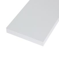 Pannello melaminico bianco 25 x 800 x 1380 mm